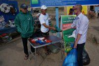Всего за 2 недели Экологического патруля около 2 тысяч туристов приняли участие в акции.