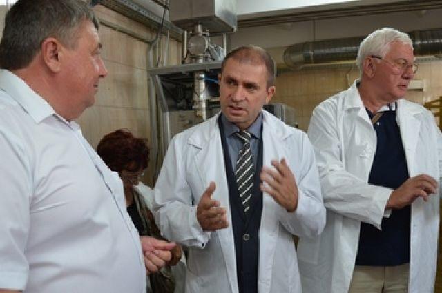 В Ростовской области открыт новый молочный завод