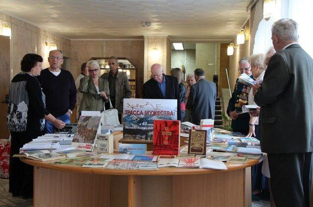 Встреча ветеранов БАМа прошла в библиотеке им. Пушкина.