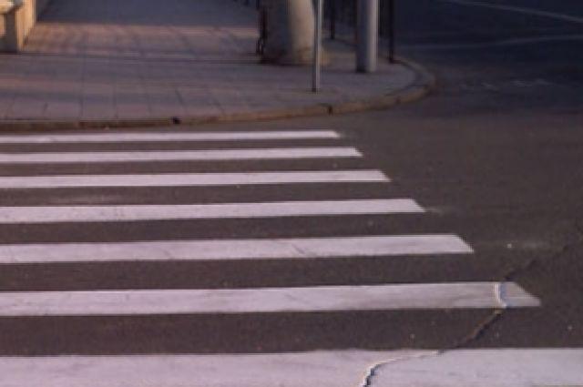 Пешеходный переход может стать местом аварии с ребенком.