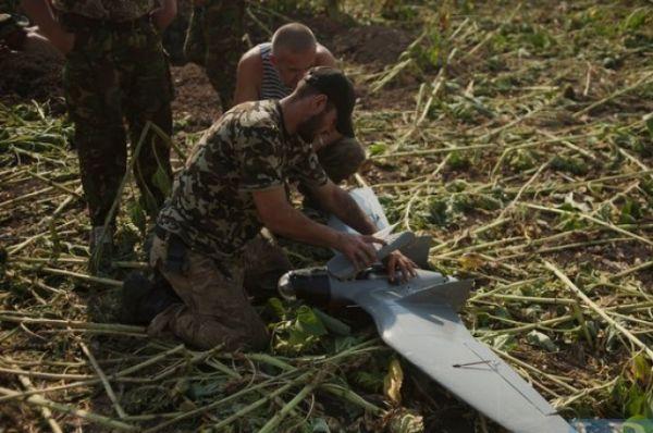 Силы АТО используют беспилотник «Фурия»