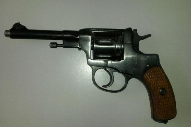 Найденное оружие.