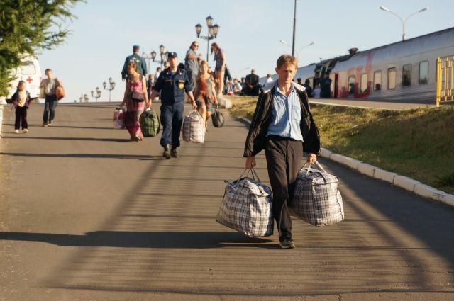 Беженцы с Украины.