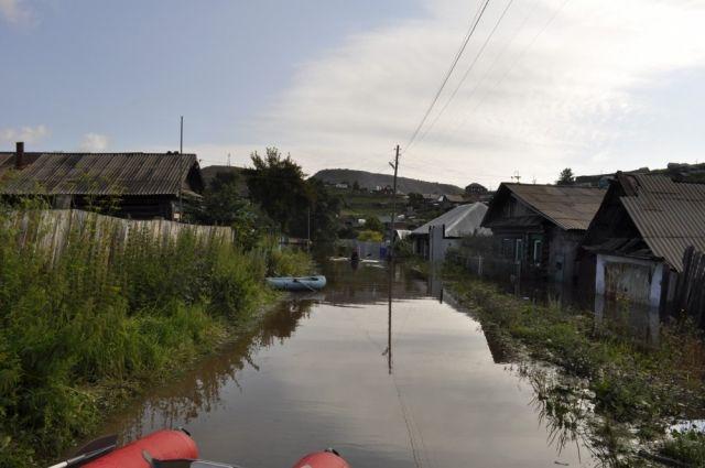 Пострадавшие от наводнения южноуральцам выделят 10 млн денежной компенсации