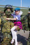 День ВДВ прошел в Омске.
