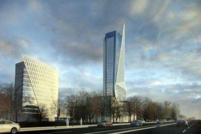 Американский архитектор хочет построить в Екатеринбурге небоскреб