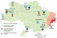 АТО и футбольная карта