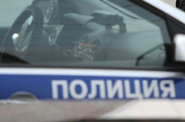 Полицейские прибыли в деревню для разбирательства.