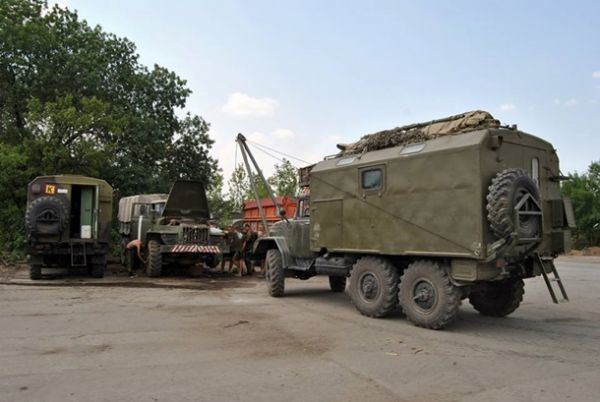 Отдел вооружения штаба АТО