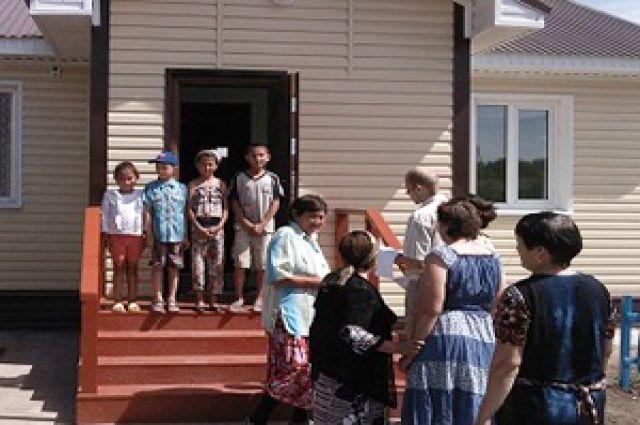 В Черлакском районе открылся акушерский пункт.