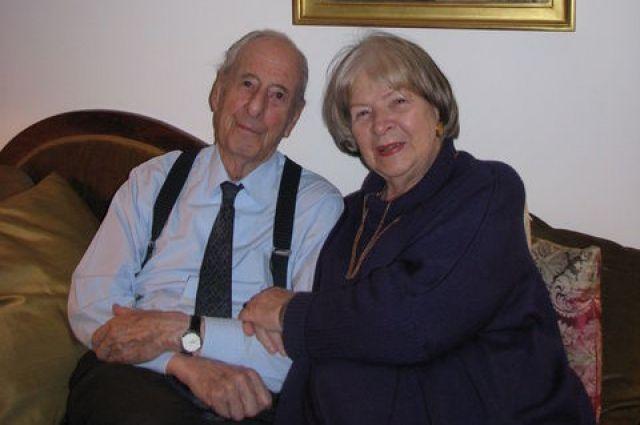 Людвиг Отт и Елена Скоропадская
