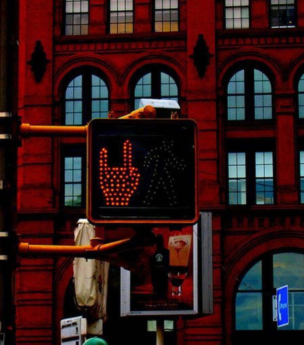 Оригинальный светофор