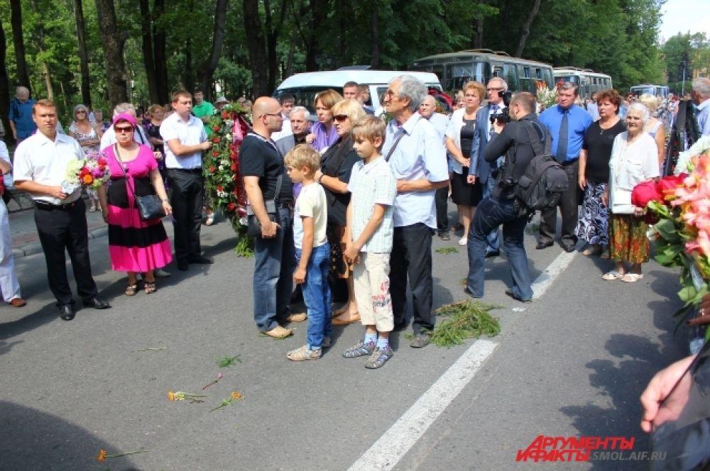 Родственники и близкие Ольги Воронец.