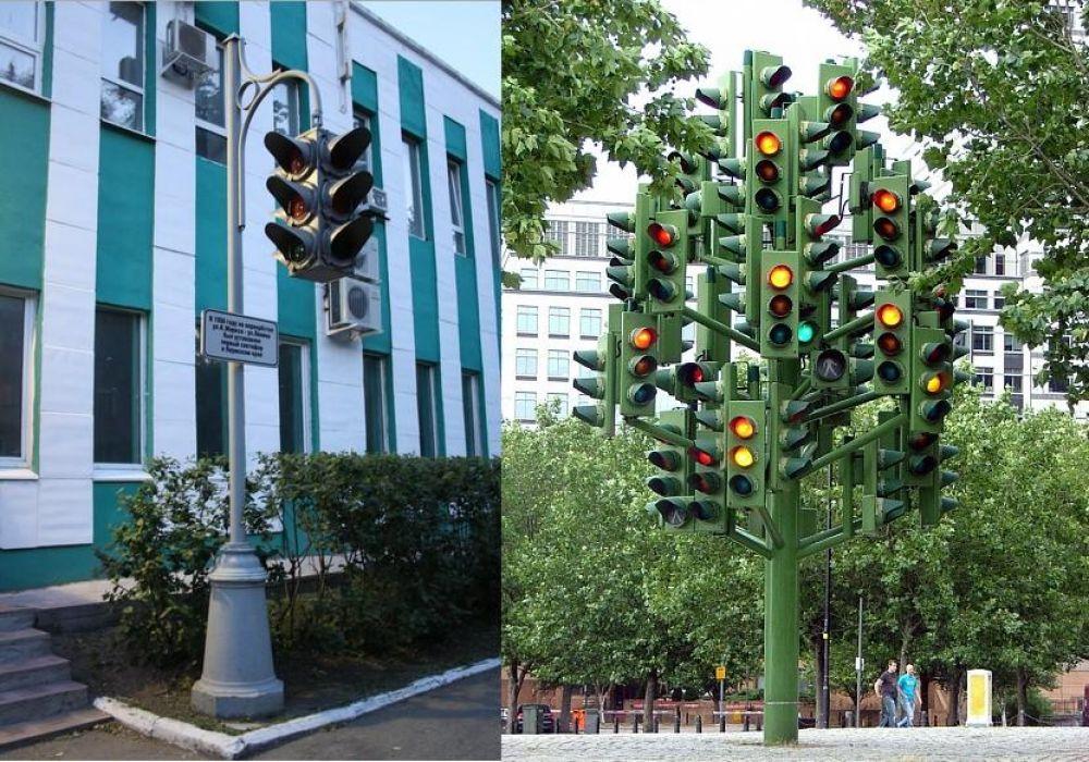 Оригинальные светофоры