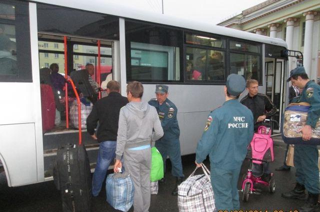 Областной резервный фонд будет задействован для обустройства беженцев