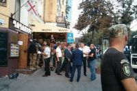 Захват ресторана на бульваре Шевченка
