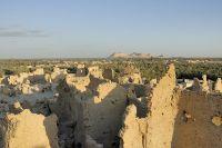 Останки древнего песчаного города Шали-Гади.
