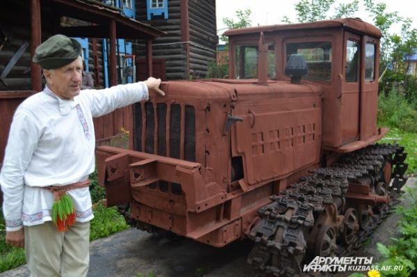 После Великой Отечественной войны пахали на тракторах. Этот АТЗ – выходец с Алтайского завода.