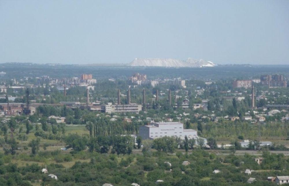 Телевышка на горе Карачун