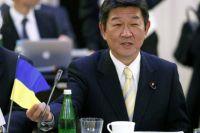 Тошимицу Мотеги, министр экономики, торговли и промышленноси Японии
