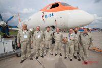 Ил-114 ЛЛ и пилоты компании «Радар-ММС».
