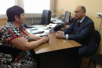 Александр Костенко встретился с и.о. начальника межрайонной инспекции федеральной налоговой службы № 11.