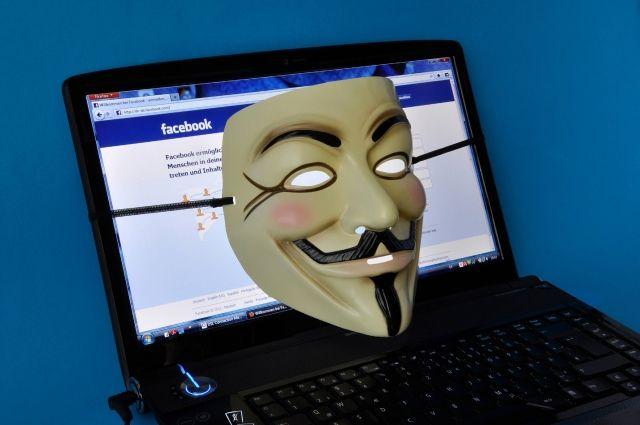 Маска, которую ассоциируют с группировкой Anonymous.