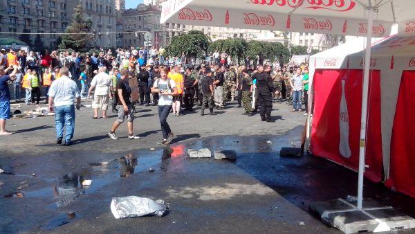 Правоохранительные органы и спецбатальоны на Майдане