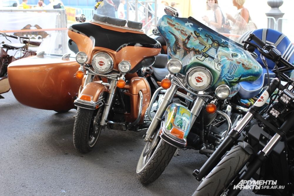 Кастомы на базе Harley-Davidson