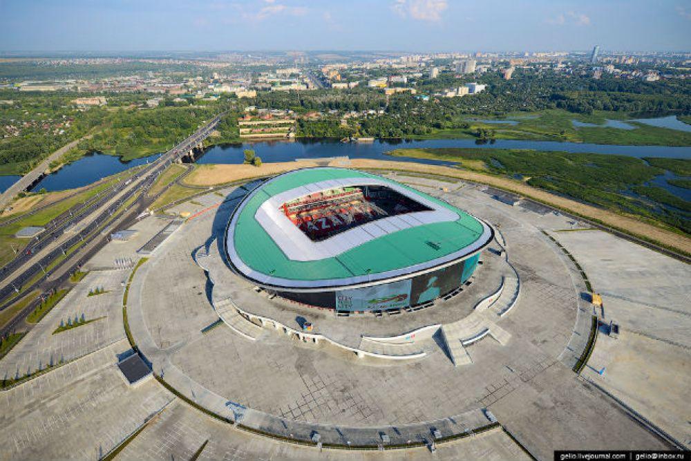 Новая футбольная арена, где пройдет чемпионат мира по футболу в 2018 году