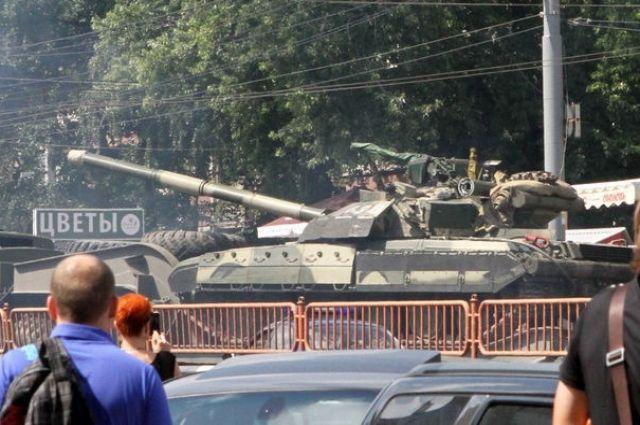 Танки в Киеве