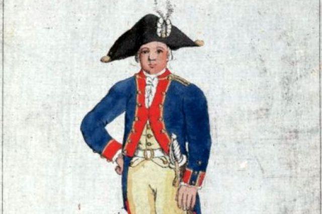 Кадет Сухопутного шляхетного кадетского корпуса (1793)