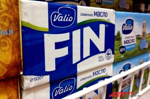 Молочная продукция из Финляндии.