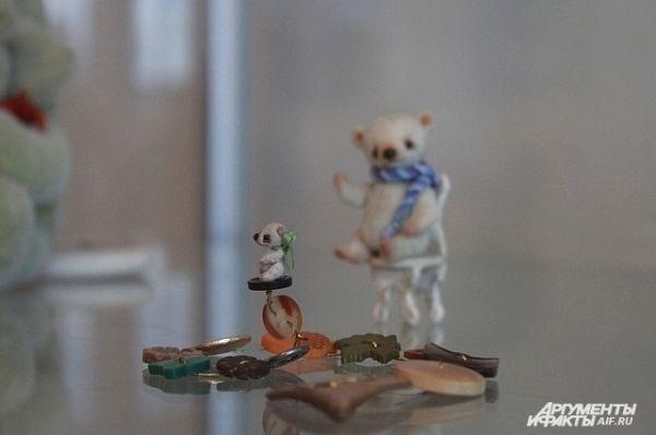 Минитаюрные мишки