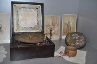 Экспонаты выставки, посвященной Первой мировой войне.