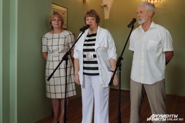 Елена Кальницкая: «Нам эта выставка покажет московский взгляд на Петербург».