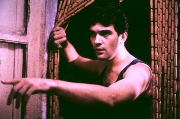 Дебют Бандераса состоялся в 1982 году: он получил роль в фильма Педро Альмодовара «Лабиринт страстей». Режиссер снял с молодым актером еще несколько фильмов, и карьера Бандераса пошла в гору.