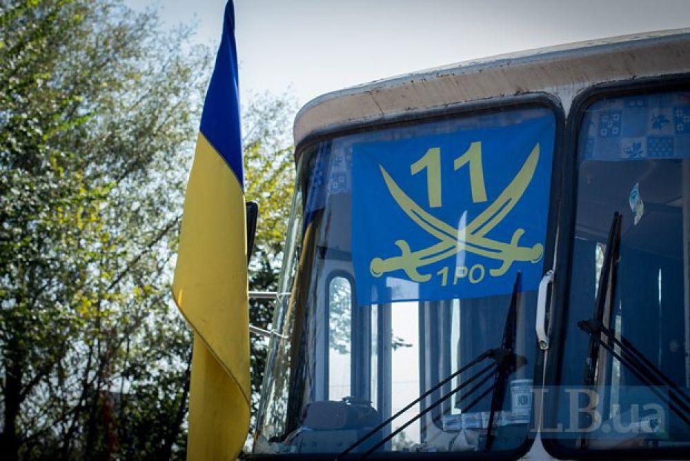 Волонтеры в Славянске