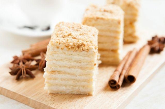 наполеон торт рецепт с фото историй