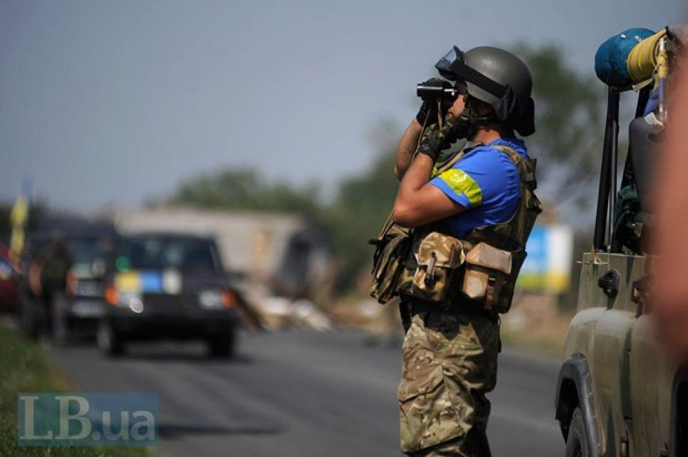 Батальон «Донбасс» в зоне АТО