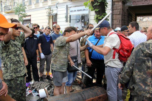 Жители Майдана
