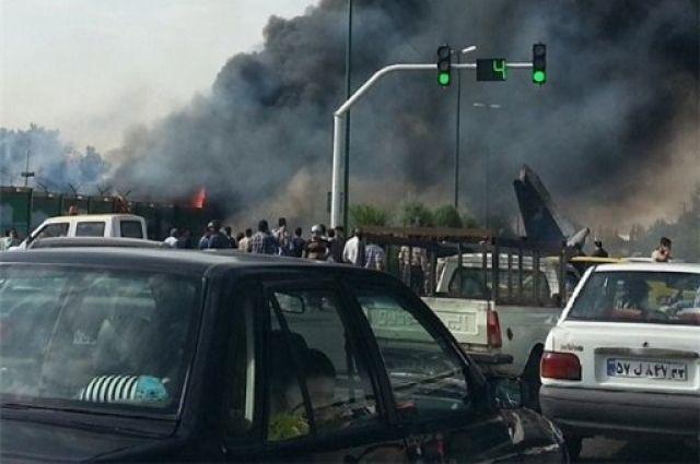 Крушение самолета Iran-141