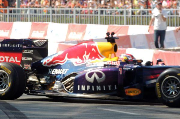 Болид команды «Формулы-1» Red Bull Racing.
