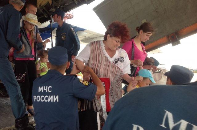 Переселенцы из Донбасса