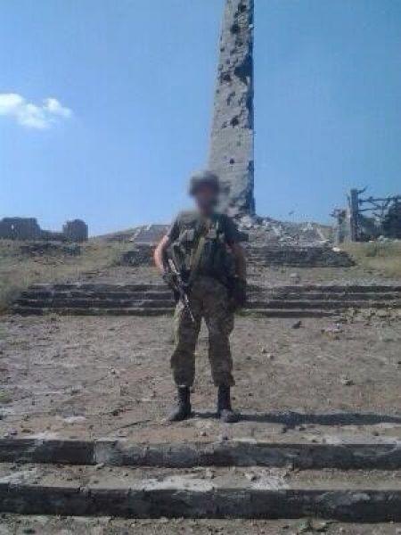Монумент ВОВ в Донецкой области