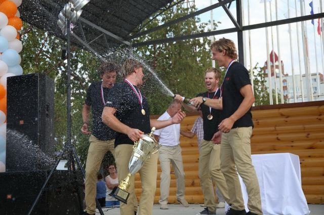 Парусную регату «ЯВА-Трофи» выиграл австралиец Девид Гилмор