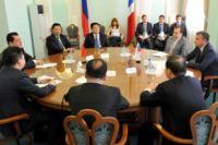 Делегация из Китая в Омске.