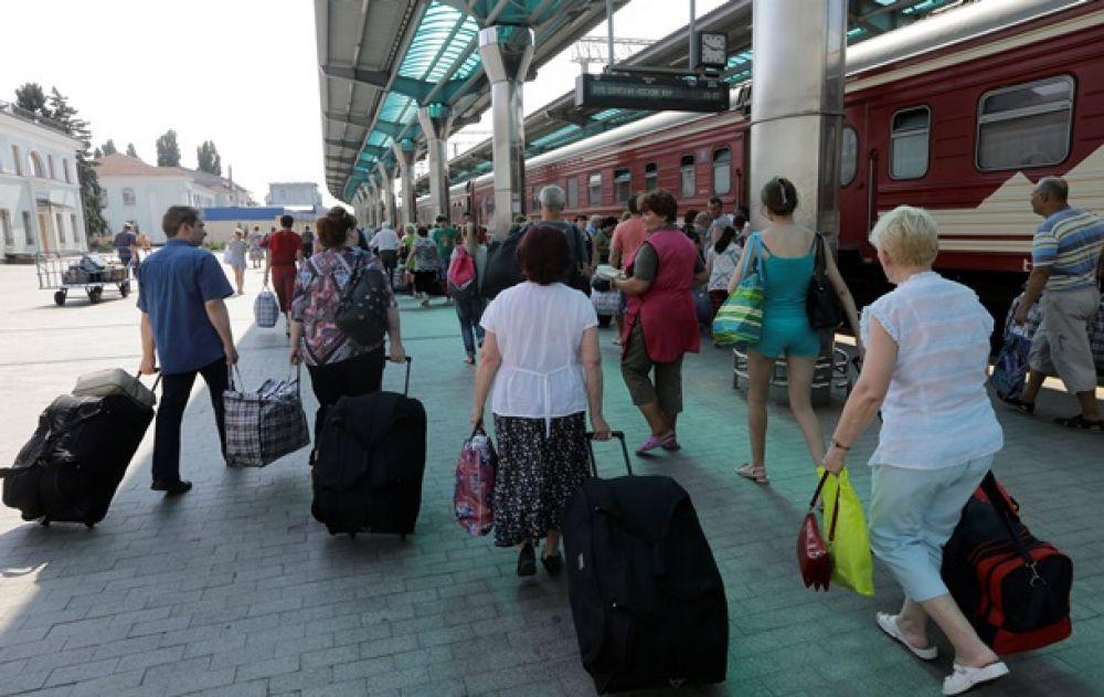 Донецк покидают мирные жители