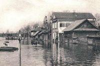 Весьегонск во время наводнения