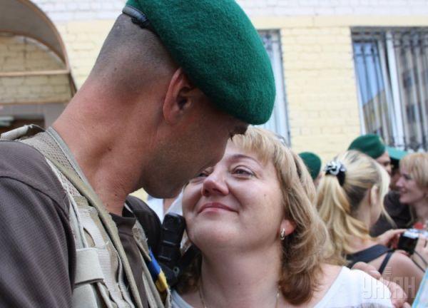 Военные вернулись из зоны АТО